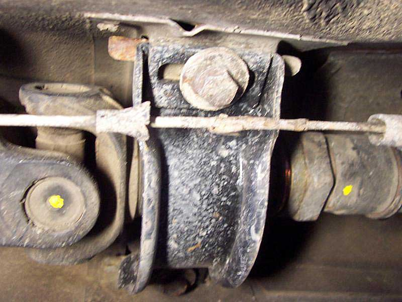 PeachPartsWiki: Driveshaft Support (carrier) Bearing Replacement