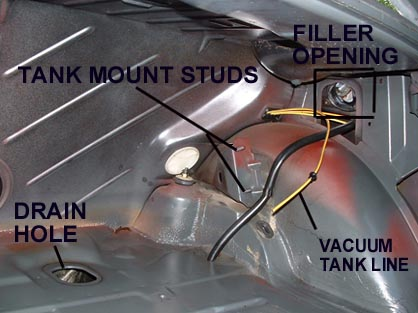 how to clean the inside of a rusty fuel tank