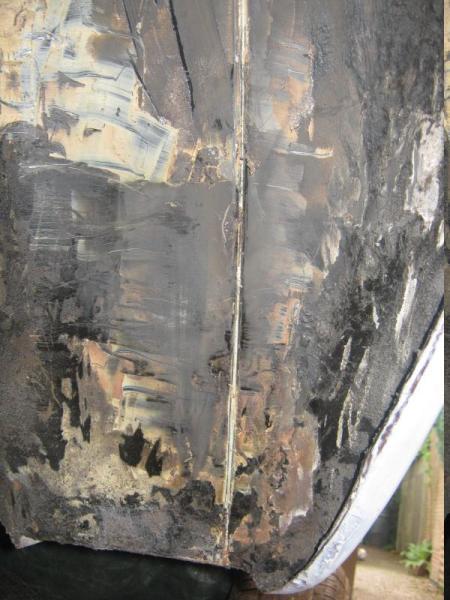 240d - Damaged Rear Quarter Panel