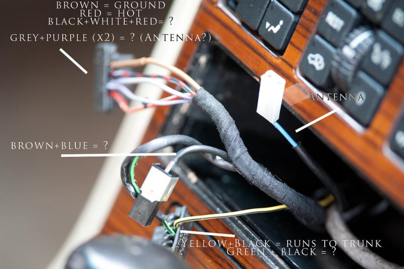 1990 W126 Stereo Upgrade Woes - PeachParts Mercedes-Benz Forum
