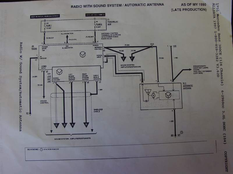 Becker Car Radio Wiring Diagram : Can someone please explain my system e with
