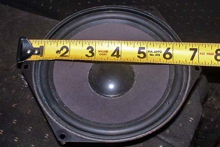92 300D front door speakers. Problems with size - PeachParts ...