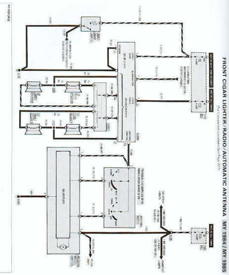 wiring diagram to 1998 mercedes w140 power antenna free