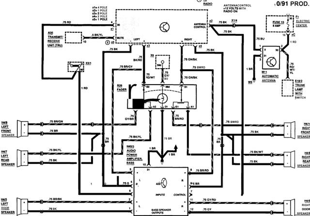 Mercedes Benz Wiring Diagrams Free : E new radio head leave the amp peachparts