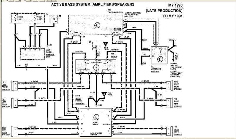 1989 mercedes benz 300e wiring diagram