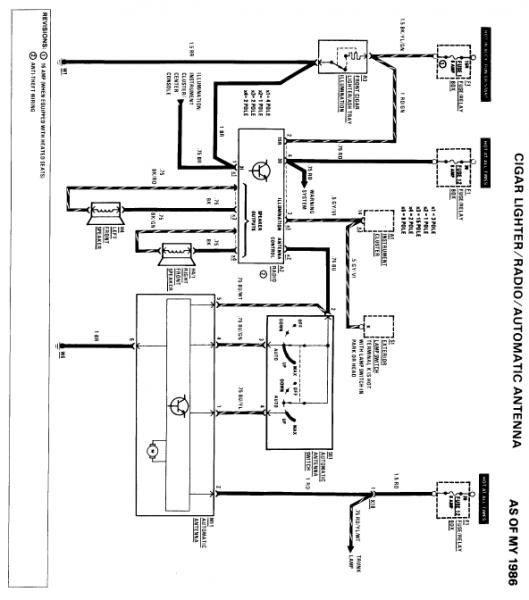 D Wiring Head Unit Stereo on 1987 560sl Mercedes Benz Radio Wiring Diagram