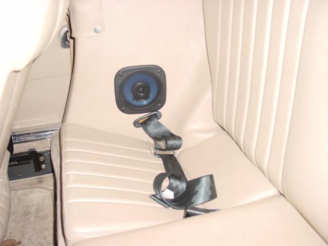 560sl W107 Rear Speaker Placement Peachparts Mercedes