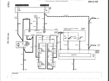 speaker wiring 83 300sd - peachparts mercedes-benz forum  the peachparts forum!