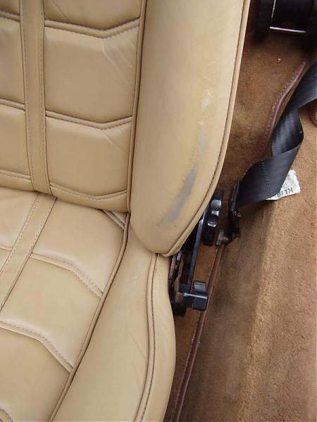 Anyone Done Vinyl Repair On Mb Tex Seats Peachparts