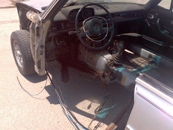 Mercedes W115 Restoration Parts