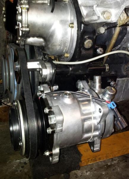 617 Sanden Style A C Compressor Mounting Kit For Sale