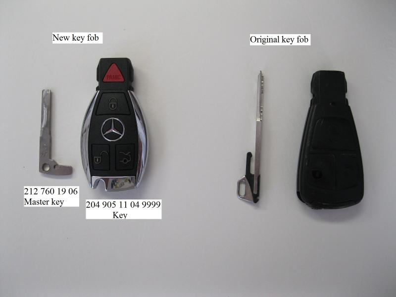 how to change battery on mercedes c230 key