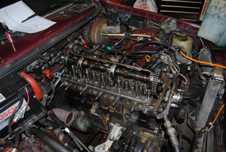 Front View also D Td Head Gasket Repair Headdone moreover Brake System furthermore  on saab 9 3 engine timing chain mark