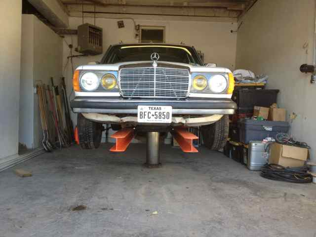 Globe Portable Auto Lift : Advice on globe hoist car lift peachparts mercedes benz