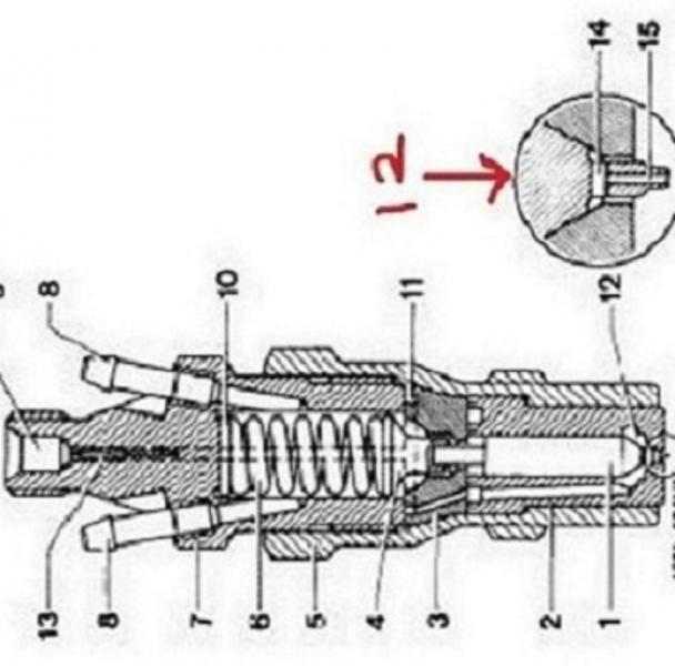 mercedes 560sl fuel system diagram