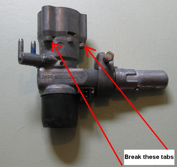 How to break an ignition lock