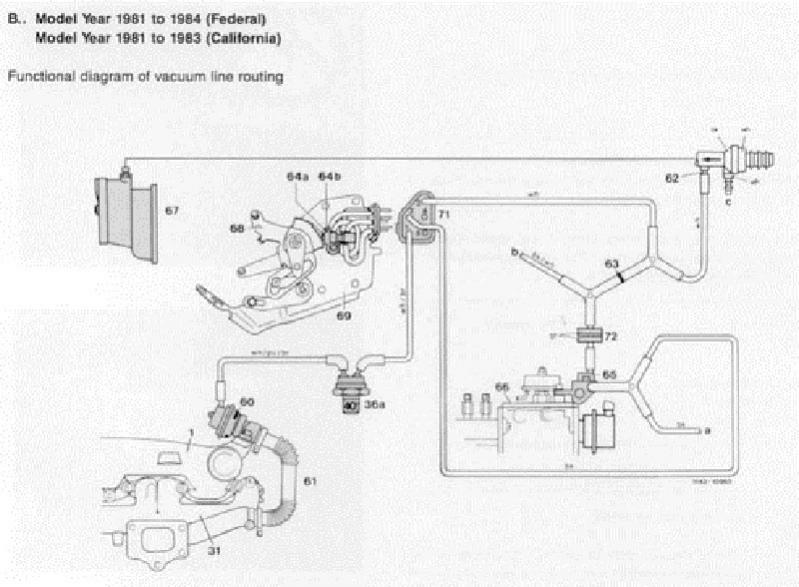 84 cd vacuum diagram - peachparts mercedes-benz forum 2005 mercedes e500 engine diagram 84 mercedes 190e engine diagram #12