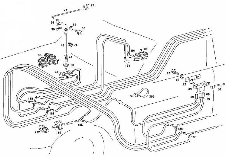 1983 mercedes 240d vacuum diagram  mercedes  auto wiring