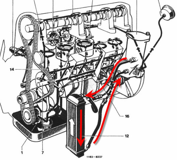 1960 chevy truck steering column diagram Chevrolet Engine Vacuum Routing Diagrams Engine Vacuum Line Diagram