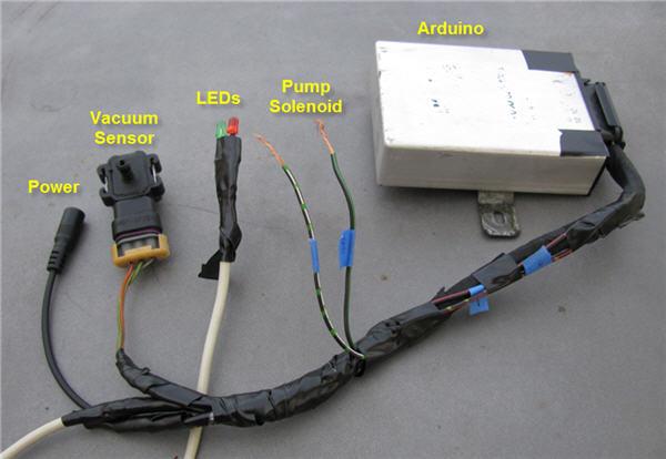 Electrical Vacuum Pump Conversion Project