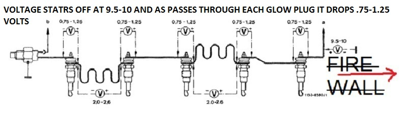 Mercedes glow plugs wiring product wiring diagrams 1976 300d glow plug circuit issues peachparts mercedes benz forum rh peachparts com ford glow plug wiring mercedes glow plug relay wiring cheapraybanclubmaster Images