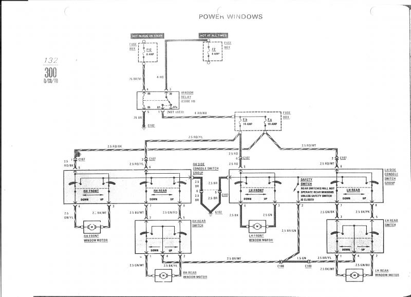 troubleshooting passenger side rear window, startek wiring Mercedes-Benz R129 Wiring Diagrams at Mercedes Benz Power Window Wiring Diagram