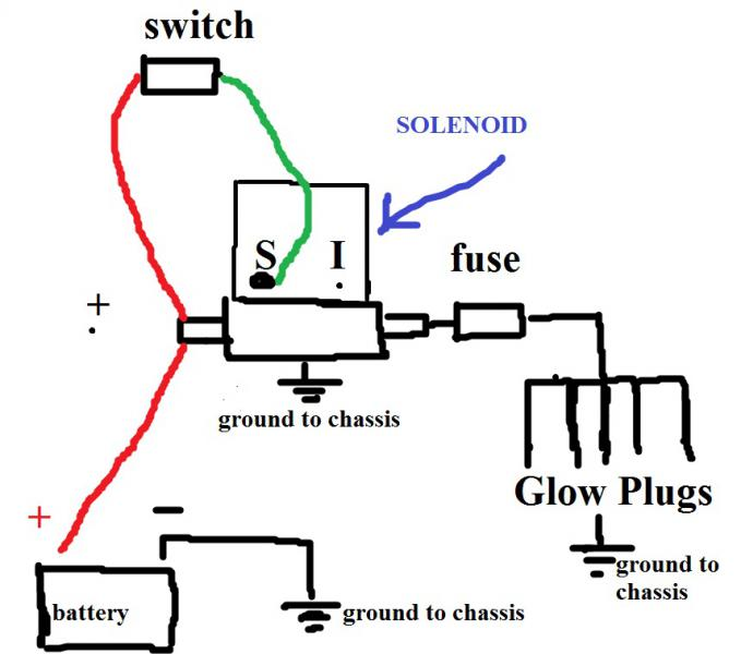 124315d1410315393 manual glow plug timer switch solenoid sketch glow plug wiring diagram generator wiring diagram \u2022 free wiring 2001 ford 7.3 glow plug wiring diagram at arjmand.co