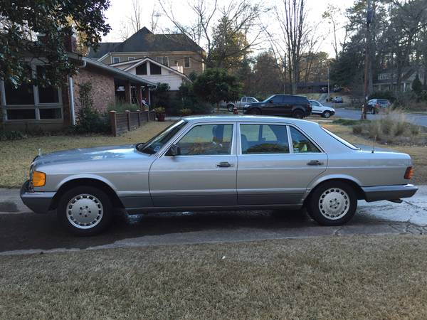 Just bought a 1986 300sdl for peachparts for Mercedes benz 1986 e300