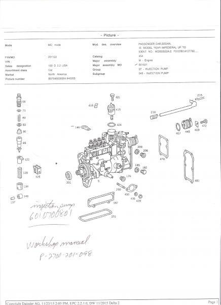 emergency shut off om 601 peachparts mercedes benz forum rh peachparts com mercedes om601 service manual