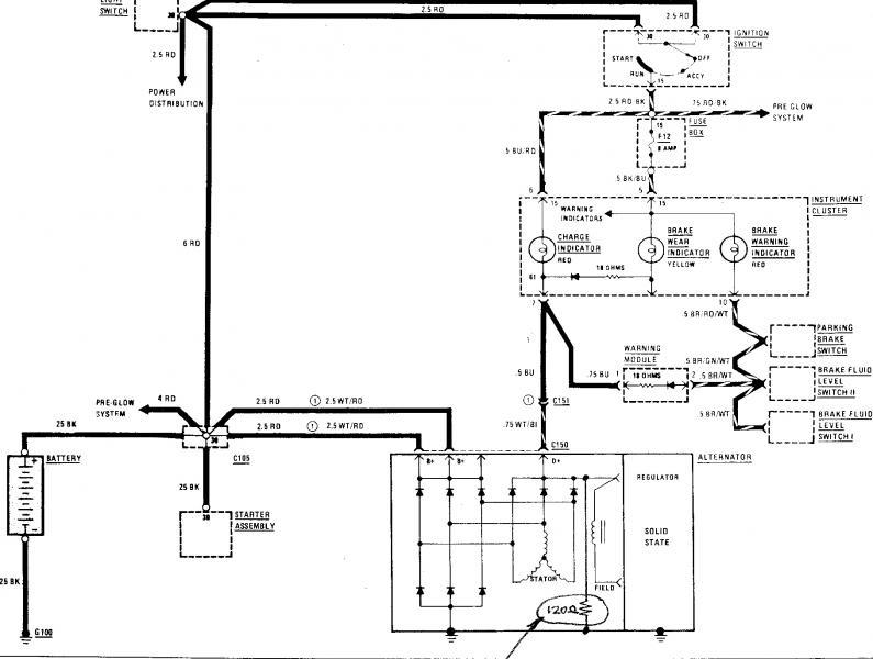 resistor across alternator rotor winding