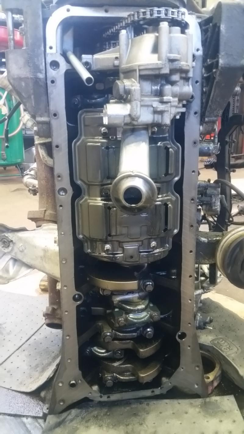 Mercedes Om606 Engine Swap