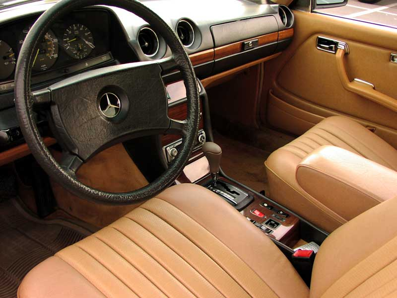 Image gallery w123 interior for Interior parts for mercedes benz