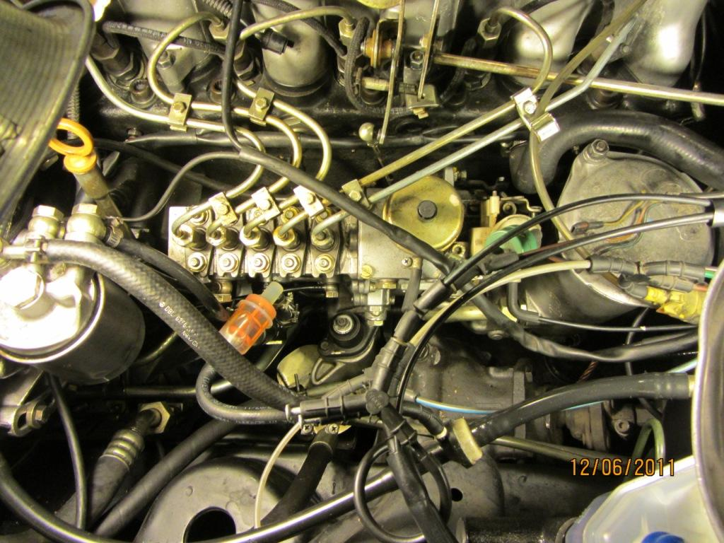 1985 Mercedes 300D - Throttle Linkage Issue - PeachParts Mercedes