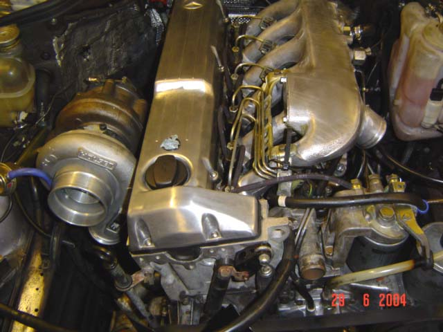 Someone Finally Intercooled An Om603 Peachparts Mercedes