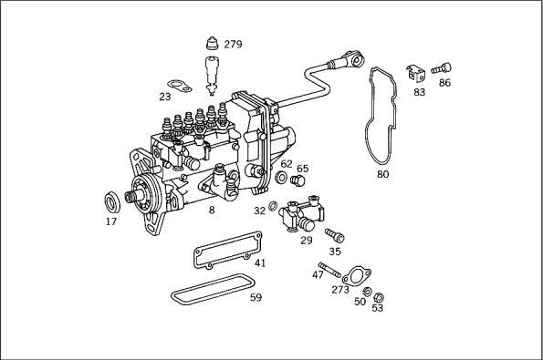 99 e300td injector pump leak