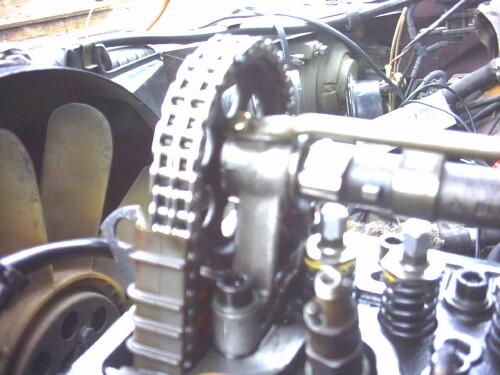 D Sd Broken Timing Chain Repair Cam Timing Mark