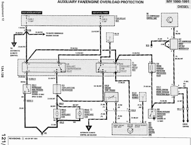 1983 Mercedes Wiring Diagrams | Wiring Diagram Liry on