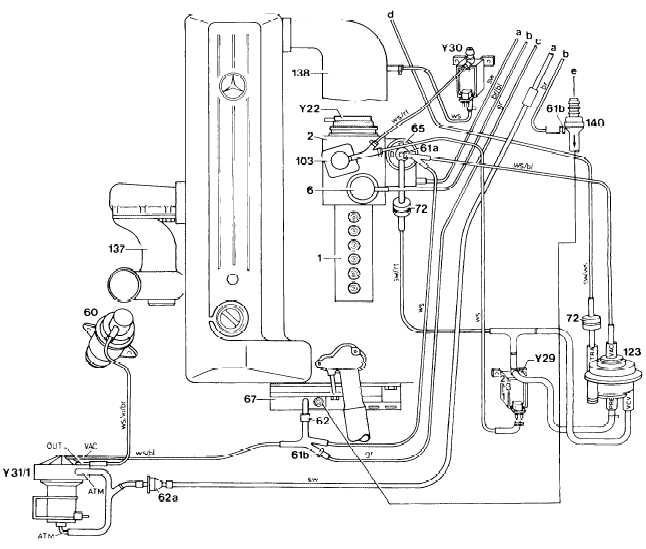 1987 mercedes 300d vacuum diagram 1987 free engine image for user manual