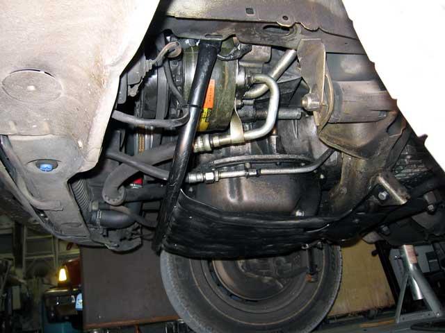 Mercedes Benz Santa Rosa >> W123 Skid Plate Install w/pix - PeachParts Mercedes-Benz Forum