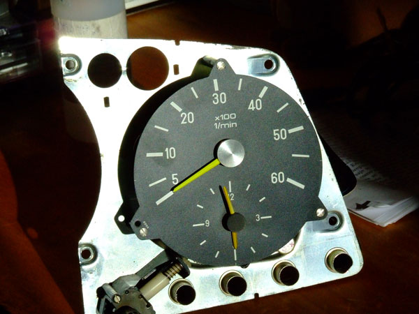 Tach Installation In A 300d