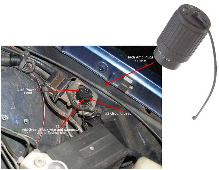 adding a tach to my euro 84 300td, what do i need? - peachparts  mercedes-benz forum