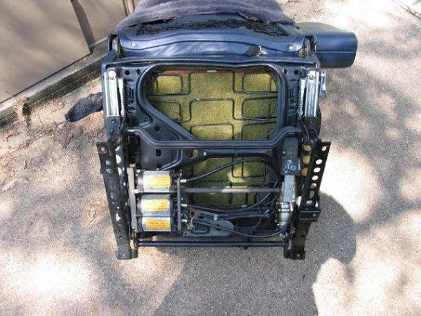 Diy Seat Spring Repair W126 Peachparts Mercedes Shopforum