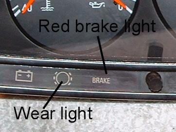 Yellow dash light mercedes benz forum for Mercedes benz brake wear warning light