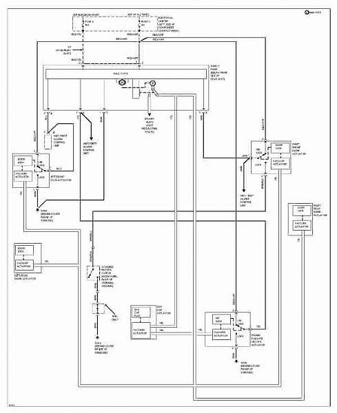 92 mercedes wiring diagram