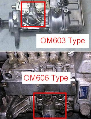 Will an OM603 lift pump work on and OM606? - PeachParts Mercedes