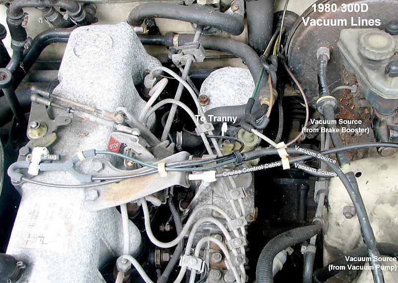 Vacuum diagram for \'80 300CD needed - PeachParts Mercedes-Benz Forum