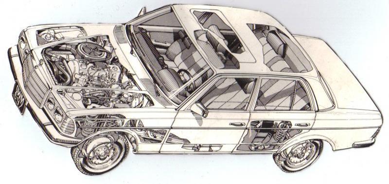 Cut-away car on the Haynes Manual - PeachParts Mercedes-Benz Forum