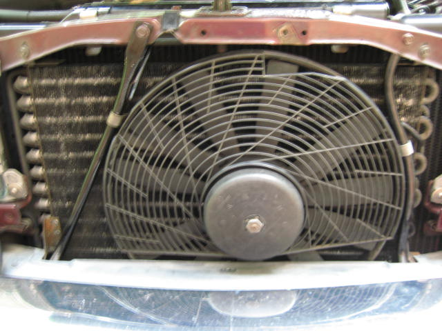 W123 Electric Aux Fan Upgrade Peachparts Mercedes Benz