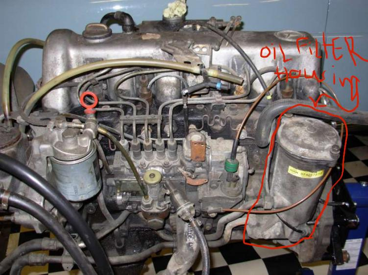 Oil Filter Housing Location Peachparts Mercedes Benz Forum