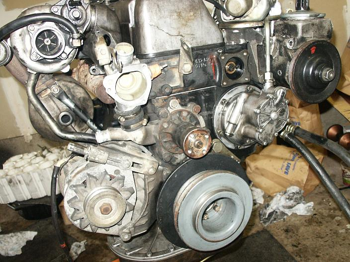 1982 240D Alternator Bracket Removal - PeachParts Mercedes ...